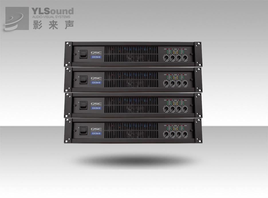 新型4声道CX功放在2U空间内可提供4个声道而不降低输出功率。该系列现有3种型号(1种直接输出70伏型号和2种低阻抗型号),均采用QSC独有的功波PowerWaveTM开关电源技术,从根本上消除了噪音和哼声。高输出功率,多种负载选择,高热效率和无比的可靠性使CX系列成为永久性安装声音系统的最佳选择。 3种型号每声道输出功率从170瓦到450瓦 体积小-所有型号均为2U高,14英寸深,以降低机柜成本,减少占地面积 有效的涌入限制作用消除了交流电源接通瞬间的涌入电流,免去了昂贵的电源顺序接通器 HD15数据接
